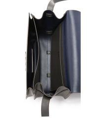 Zac Zac Posen | Black Eartha Accordion Cross Body Bag - Charcoal | Lyst