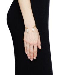 Ela Stone | Metallic 'Jonc' Baroque Pearl Cuff | Lyst