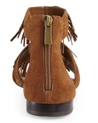 Vince Camuto - Brown Rust Hershell Fringe Sandals - Lyst