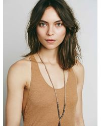 Free People - Brown Boyfriend Maxi - Lyst
