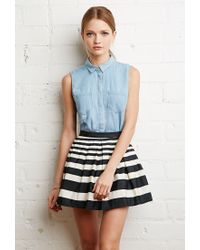 Forever 21 | Black Pleated Mini Skirt | Lyst