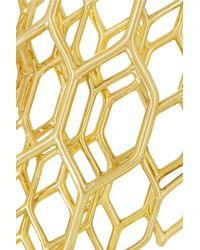 House Of Waris Rare | Metallic Love Between The Shadow Soul 18karat Gold Cuff | Lyst