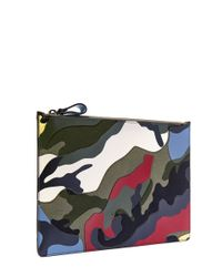 Valentino - Multicolor Large Multicolour Camouflage Pouch for Men - Lyst