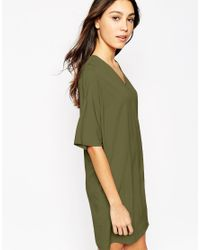Vero Moda - Natural Wrap Dress - Lyst
