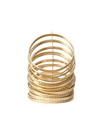 Forever 21 - Metallic Textured Bangle Set You've Been Added To The Waitlist - Lyst