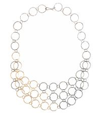 Melissa Joy Manning | Metallic Gold Mixed Metal Mini Collar Necklace | Lyst