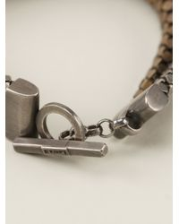 Laura B - Gray Bandas Bracelet - Lyst