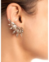 Ryan Storer | Pink Rose Gold Swarovski Ear Cuff | Lyst