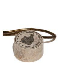 Lanvin - Black Long Pendant Necklace - Lyst