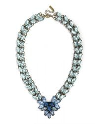 BaubleBar | Blue Garland Brooch Collar | Lyst