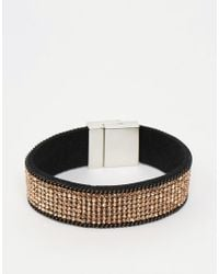 Oasis | Metallic Crystal Rock Magnetic Bracelet | Lyst