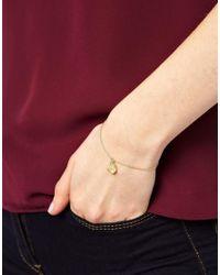 ASOS - Metallic Coin Bracelet - Lyst