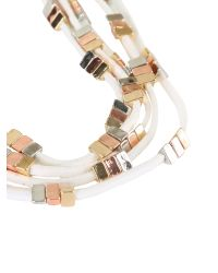 Ziba | White Claudia Necklace | Lyst