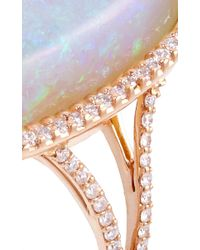 Kimberly Mcdonald | Metallic One Of A Kind Crystal Opal And Diamond Ring | Lyst