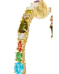 Sharon Khazzam   Multicolor Baby Hoop Earrings   Lyst