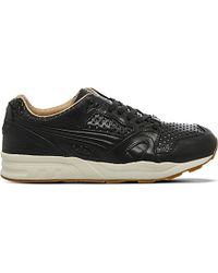PUMA | Black Trinomic Xt2 Leather Trainers for Men | Lyst