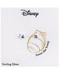 Disney | Metallic Bee Stud Earrings In Sterling Silver | Lyst