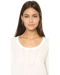 Jennifer Zeuner - Metallic Bella Necklace - Lyst