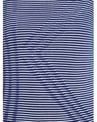 KENZO | Blue Ribbed K Cotton-Blend Sweater | Lyst