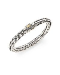 Scott Kay - Metallic Kodiak Braided Bracelet for Men - Lyst