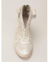 Cinzia Araia - Metallic 'Ember' Boots - Lyst