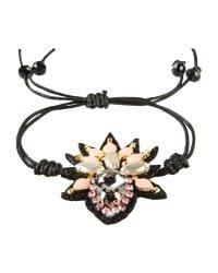 Deepa Gurnani - Black Bracelet - Lyst