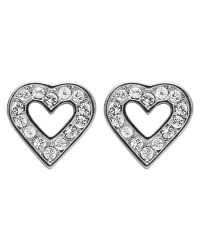Dyrberg/Kern | Metallic Dyrberg/kern Acora Heart Stud Earrings | Lyst