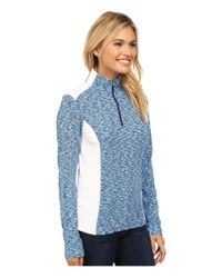 Spyder - Blue Bocca Poly Stretch T-neck - Lyst