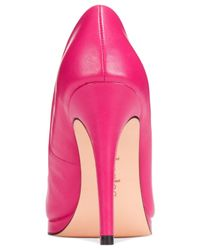 Charles by Charles David | Pink Plateau Platform Pumps | Lyst