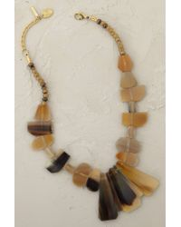 Anthropologie | Brown Java Necklace | Lyst