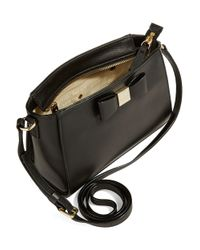 kate spade new york | Black Sienna Leather Shoulder Bag | Lyst