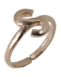 Bjorg - Metallic Ring - Lyst