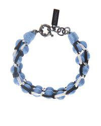 Missoni - Blue Roped Double Ball Bracelet - Lyst