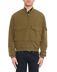 McQ - Green Ma-1 Padded Bomber Jacket for Men - Lyst