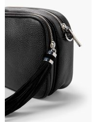 Mango | Black Cross-body Small Bag | Lyst