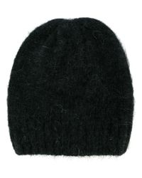 AMI - Black Classic Beanie for Men - Lyst