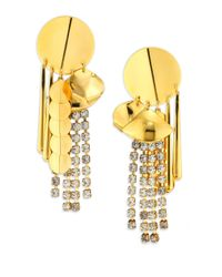 Lizzie Fortunato | Metallic The Souk Statement Drop Earrings | Lyst