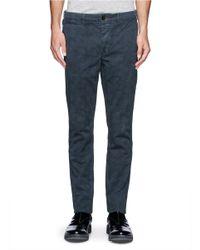 Paul Smith - Blue Sketch Hexagon Print Pants for Men - Lyst