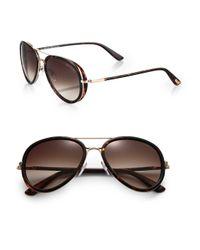 Tom Ford Brown Miles Sunglasses for men