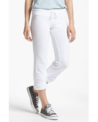 Wildfox | White 'basics - Malibu' Skinny Jogging Pants | Lyst