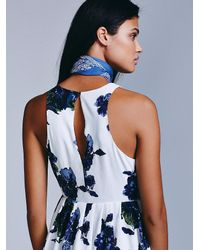 Free People | Multicolor Womens Flutterby Mini Dress | Lyst