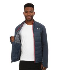 Under Armour - Blue Ua Storm Coldgear® Infrared Hybrid Jacket for Men - Lyst