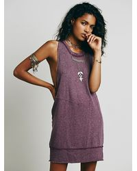 Free People - Purple Intimately Womens Roll With It Tunic - Lyst