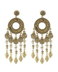 House of Harlow 1960 | Metallic Cuzco Chandelier Earring | Lyst