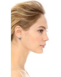 DANNIJO | Metallic Talia Earrings | Lyst