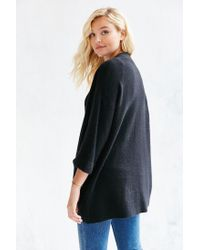 Silence + Noise | Black Claire Cardigan | Lyst