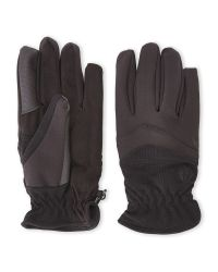 Weatherproof | Black Soft Touch Stretch Tech Gloves for Men | Lyst