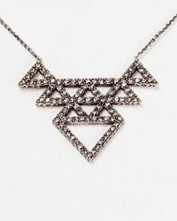"""House of Harlow 1960 - Metallic 1960 Tessellation Necklace, 16"""" - Lyst"""