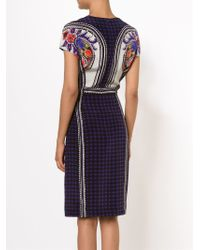 Mary Katrantzou | Black Mixed Print Dress | Lyst