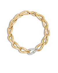 John Hardy | Metallic Bamboo Large Station Link Necklace | Lyst